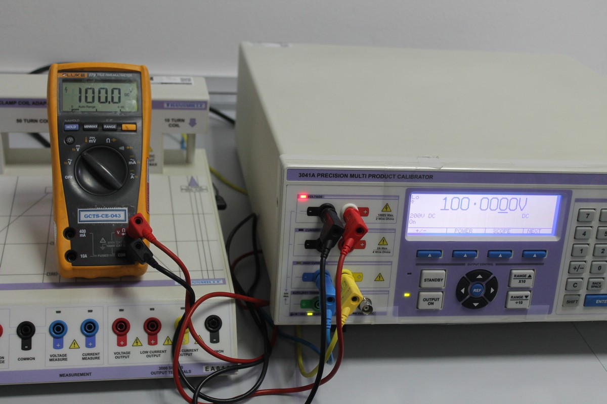 ELECTRICAL-MULTIMETER CALIBRATION